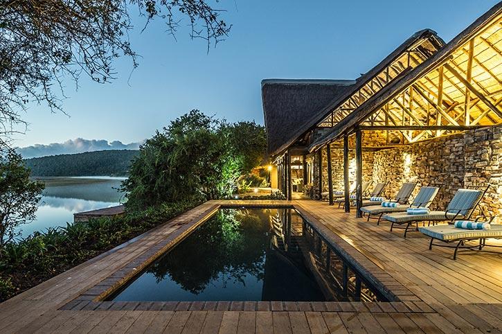Swimming pool, River Lodge