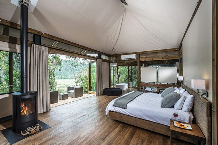 Kariega Settlers Drift Luxury Tented Suite Interior