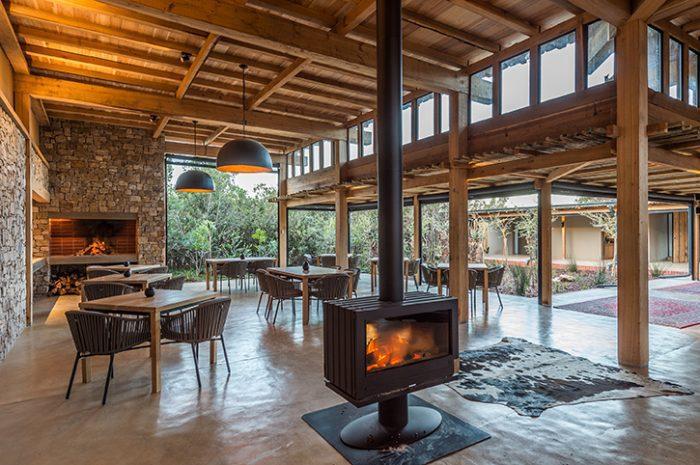 Kariega Ukhozi Lodge Dining Area
