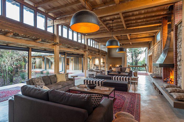 Kariega Ukhozi Lodge Lounge