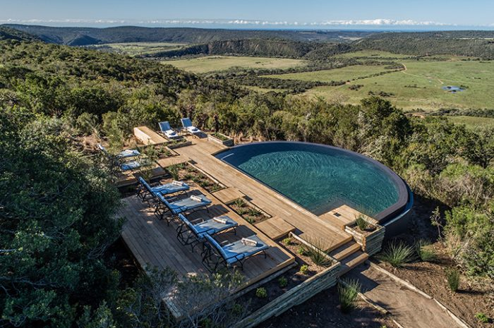 Kariega Ukhozi Lodge Main Pool Views