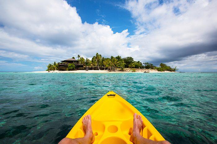Kayaking, Fiji