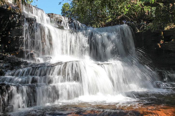 Kbal Chhay Waterfall, Cambodia