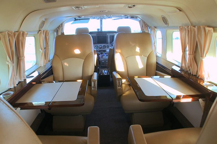 Sky Safari Cessna Caravan interior