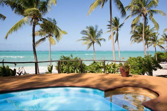 Kichanga Lodge Pool And View