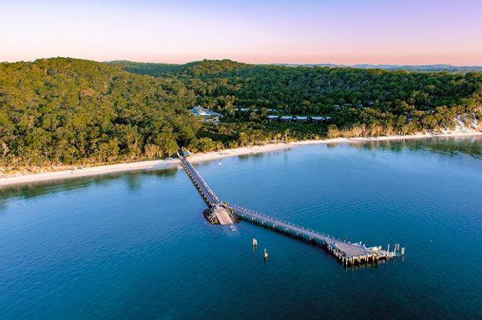 Kingfisher Bay Jetty