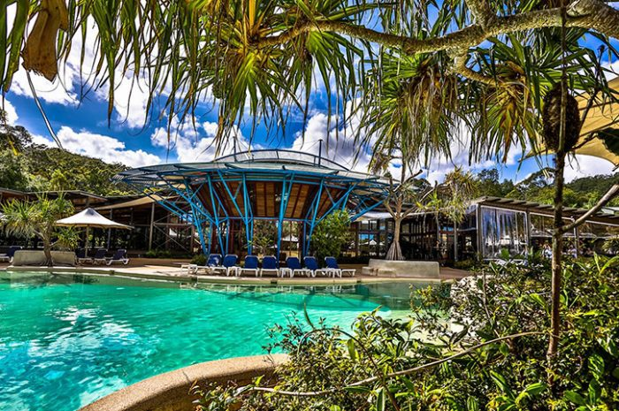 Kingfisher Bay Pool, Fraser Island