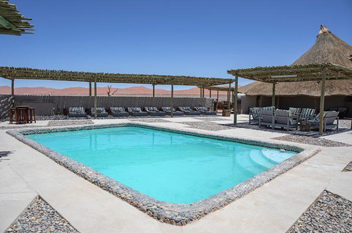 Swimming pool, Kulala Desert Lodge