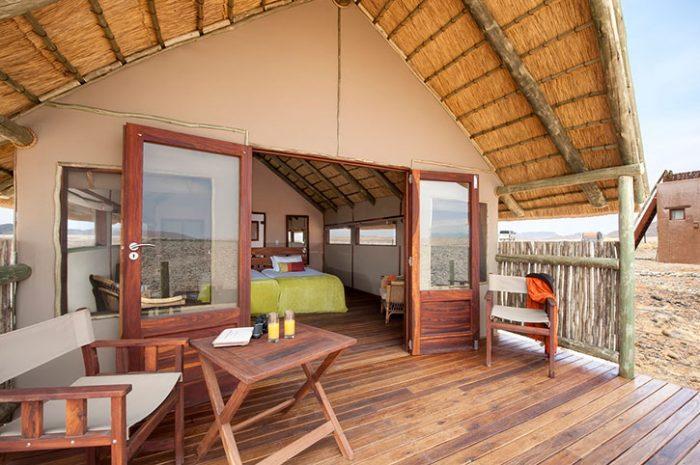 Kulala Desert Lodge deck