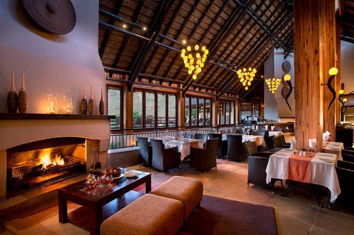 Kwa Maritine Bush Lodge Restaurant