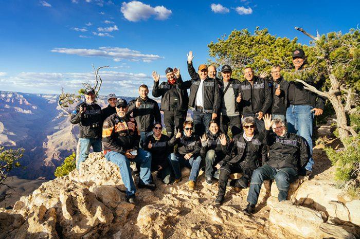 Motorcycle tour, Grand Canyon