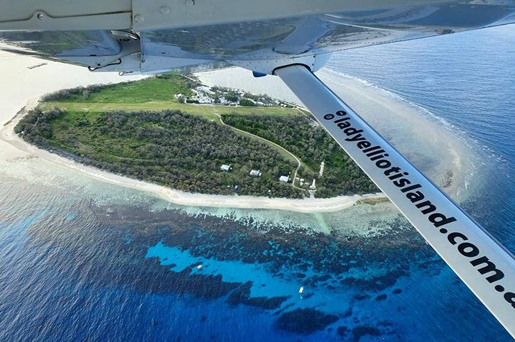 Aerial View, Lady Elliott Island