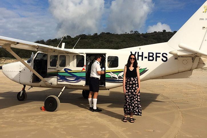 Seaplane to Lady Elliott Island