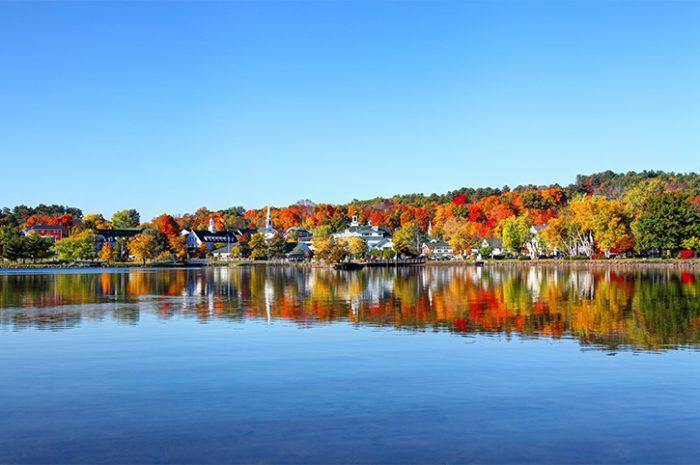 Lake Winnipesaukee, New England