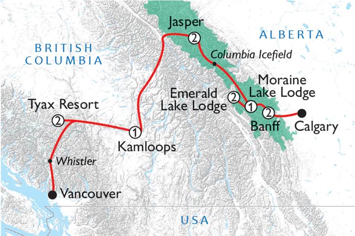 Lakes & Lodges