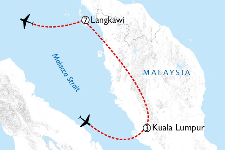 Langkawi Dreaming Map