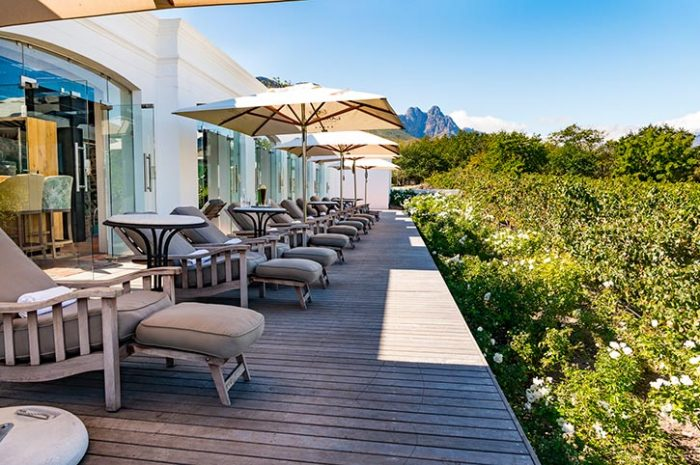 Lanzerac Wine Estate Spa Balcony