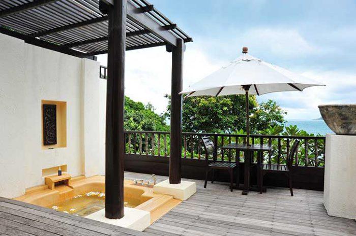 Le Vimarn Spa Villa Terrace