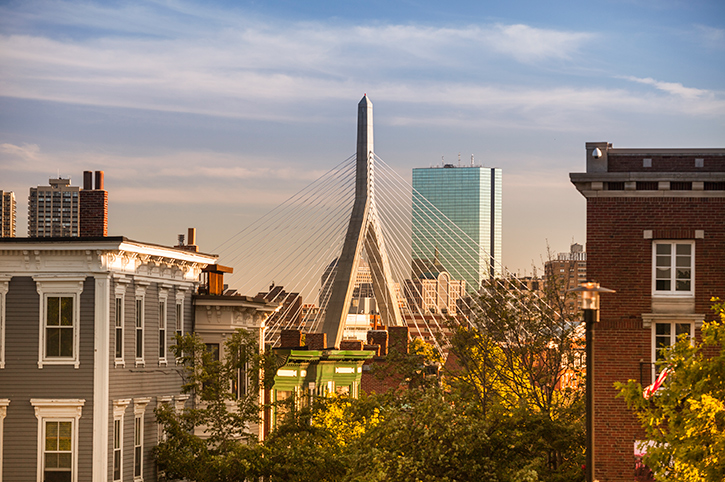 Leonard P Zakim Bunker Hill Memorial Bridge, Boston