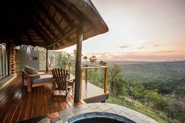 Verandah, Leopard Mountain Safari Lodge