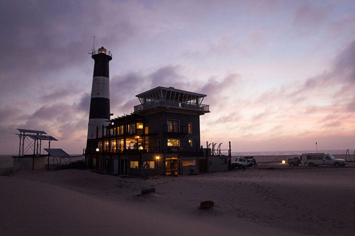 Lighthouse At Sunrise, Namibia