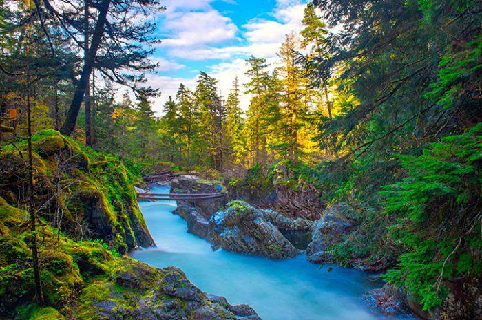 Little Qualicum Falls, Vancouver Island