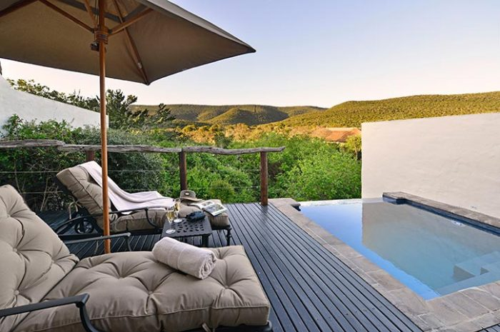 Lobengula Suite Private Plunge Pool