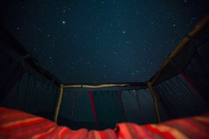 Loisaba Star Beds view of stars