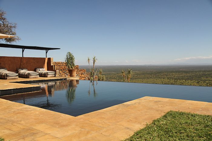 Loisaba Tented Camp Infinity Pool