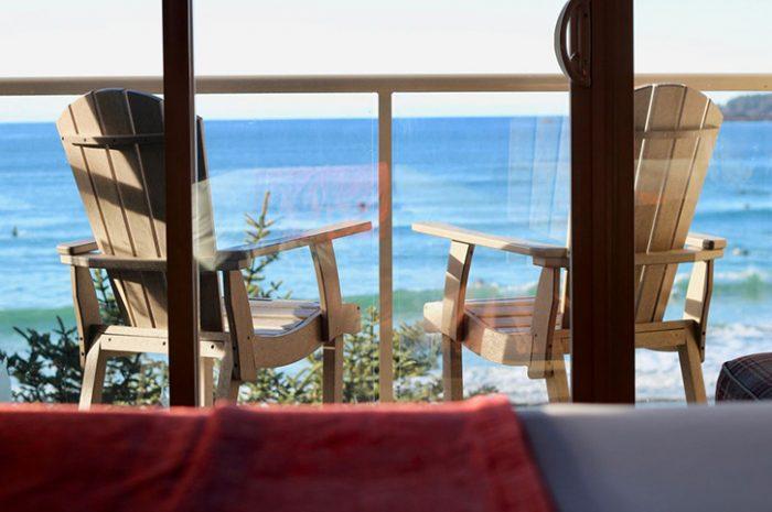 Long Beach Lodge Balcony