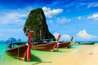 Long tail boat, Thailand