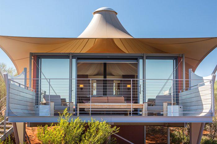 Longitude 13 Luxury Tent Exterior