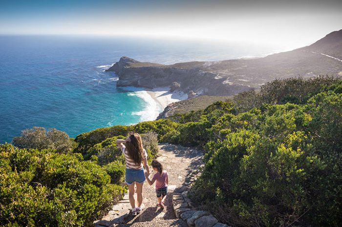 Looking Over Cape Point, South Africa