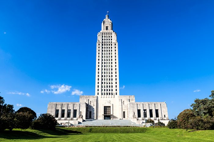 Louisiana State Capitol Building, Downtown Baton Rouge