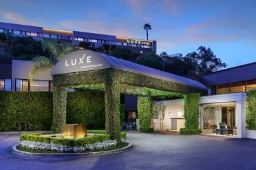 Luxe Sunset Boulevard Hotel Exterior