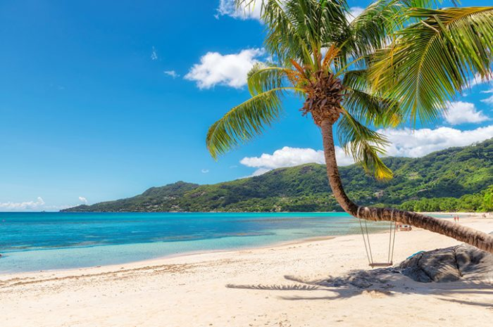 Mahe Seychelles beach