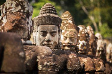 Angkor Wat Buddha Statues