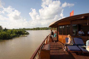 Mekong Delta Cruise Deck