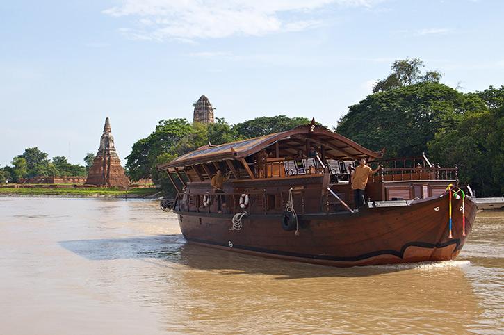 Mekhala River Cruise, Thailand