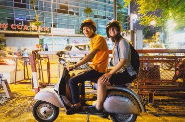 Vespa tour, Vietnam