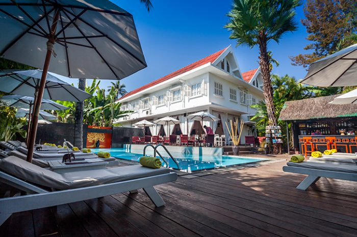 Maison Souvannaphoum Pool