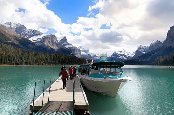 Maligne Lake Touring Boat