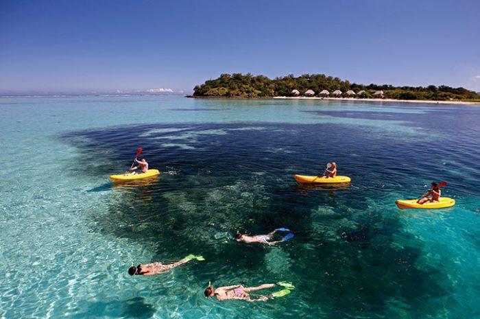 Mana Island Resort Snorkelling