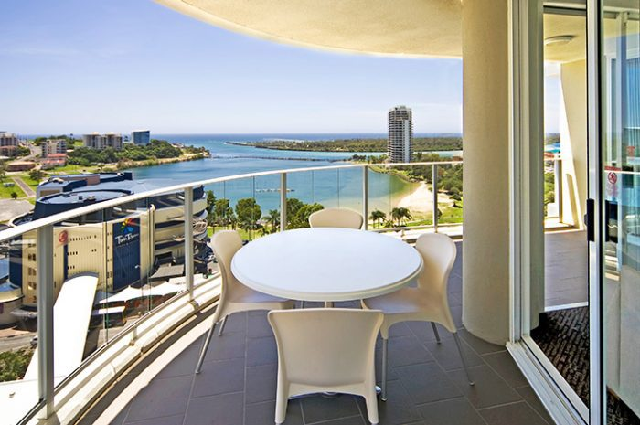 Balcony, Mantra Twin Towers, Gold Coast, South Queensland