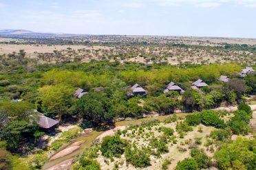 Mara Simba aerial view