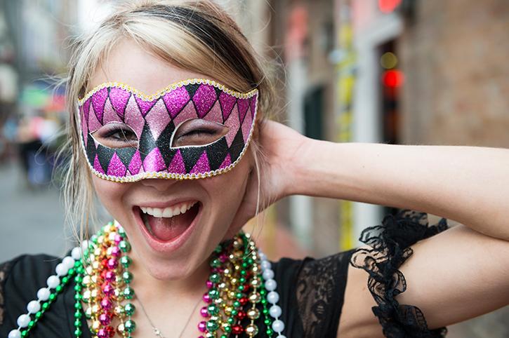 Mardi Gras Costume, New Orleans