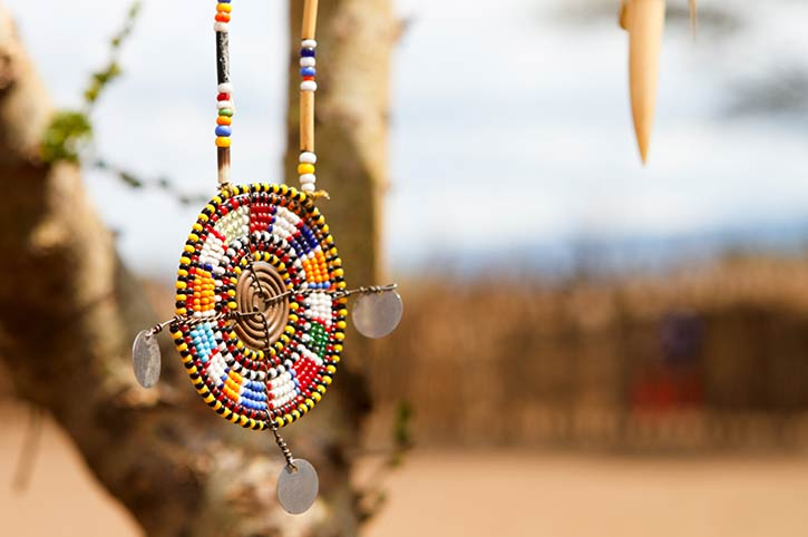 Masai Jewelry, Kenya