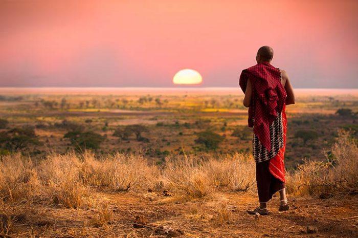 Masai Native, Kenya