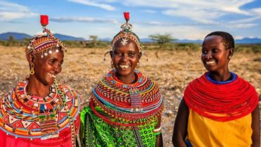 Masai Natives, Kenya
