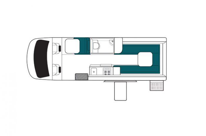 Maui Ultima Plus Floor Plan